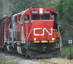 Northbound CN