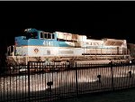 UP 4141 and Bush Funeral Train Baggage Car 5769