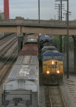 CSX 308 on NB freight