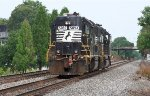 NS 5093 on the Ashville line